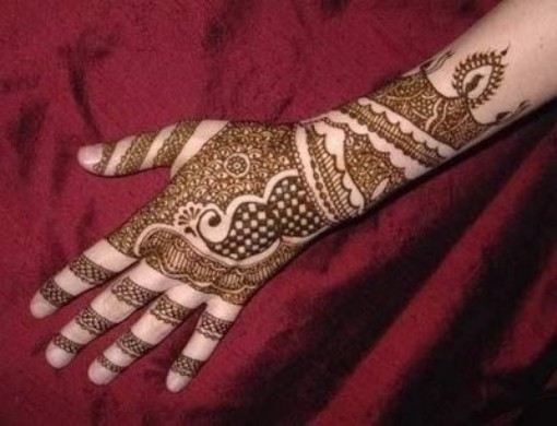 Simple Arabic Hand Mehndi Designs 2013- 2014 For Girls010