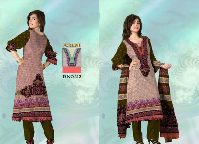 Al-Hamra Textiles Fall Collection 2013 For Girls (2)