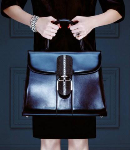 Barneys New York Ladies Luxury Leather Handbags (7)