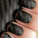 Fall 2013 Beautiful Black Style Nails Design Collection (9)