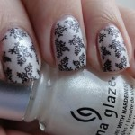 Fall 2013 Beautiful Black Style Nails Design Collection (10)