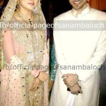 Walima pictures of Sanam Baloch