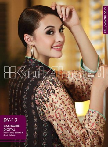 Gul Ahmed Khaddar Collection 2013-14 for Ladies (8)