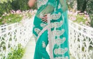 Indian Designer Latest and Beautiful Saree Collection For Women (4)
