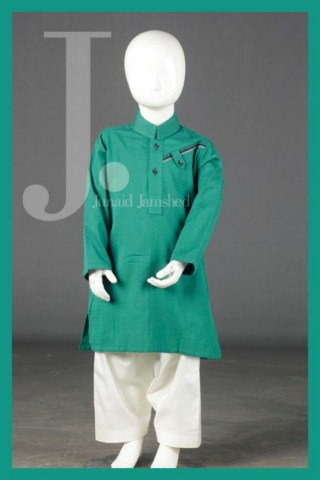Junaid Jamshed Eid Kids Kurta Collection 2013 (3)