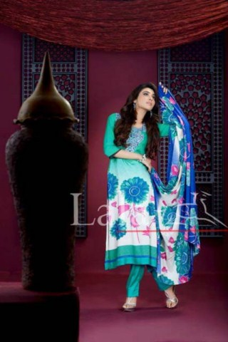 Lala Textile Turkish Printed Linen Collection 2013-14 (4)