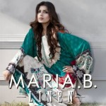Maria B Latest Linen Winter Dress Collection 2013 (5)
