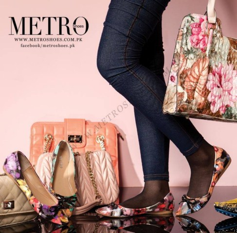 Metro Girls Eid Ul Azha Shoes Collection 2013 (2)