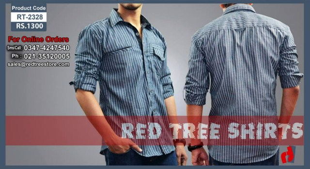 Red Tree Casual Shirts For Men (3)