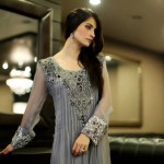 Latest ZZ Embroidered Dress Collection 2013 For Women