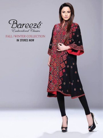 Classic Embroidered Winter dresses for girls