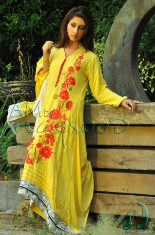 Beautiful Winter Dresses 2013-14 For Women and girls by AM (2)