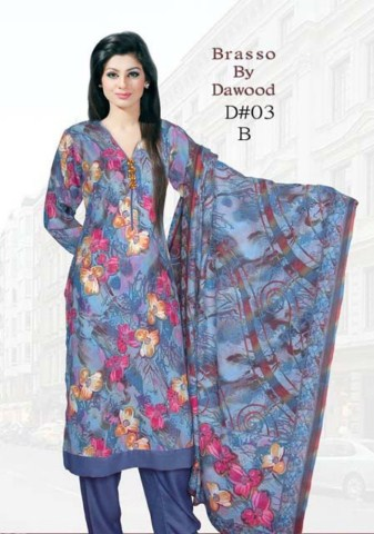 Brasso by Dawood Textiles Winter Collection 2013-2014 For Ladies (3)