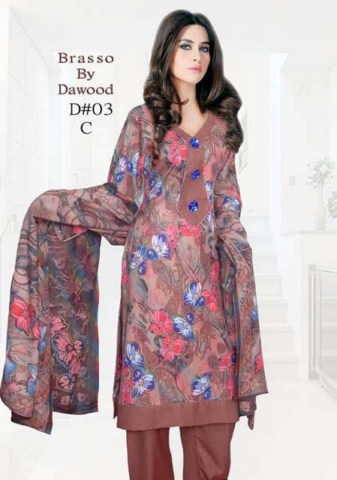 Brasso by Dawood Textiles Winter Collection 2013-2014 For Ladies (5)