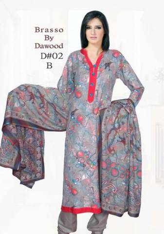 Brasso by Dawood Textiles Winter Collection 2013-2014 For Ladies (6)