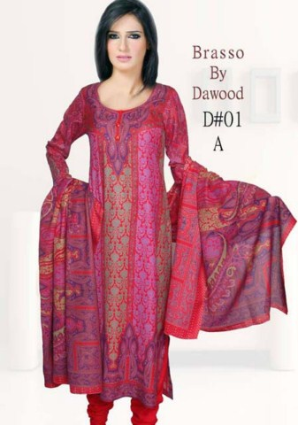 Brasso by Dawood Textiles Winter Collection 2013-2014 For Ladies (7)