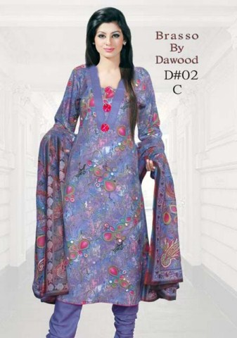 Brasso by Dawood Textiles Winter Collection 2013-2014 For Ladies (8)