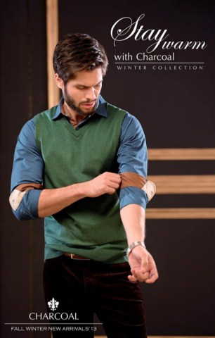Charcoal Men Winter Collection Stay Warm Fashion (5)