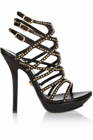 Christmas Party Luxury High Heels Footwear Women Leather Shoes (10)