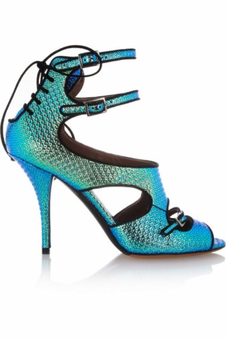 christmas party luxury high heels footwear women leather shoes