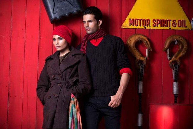 Crossroads Latest Men and Women Western Style Winter Collection (1)
