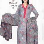 Dawood Textile Ladies Brasso Printed Outfits 2014 (1)