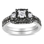 Beautiful Zales Black Diamond Rings Collection