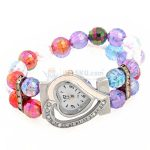Coloured full Rolex watches for girls
