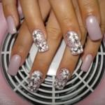 Women Stylish Nails Designs Christmas New Year