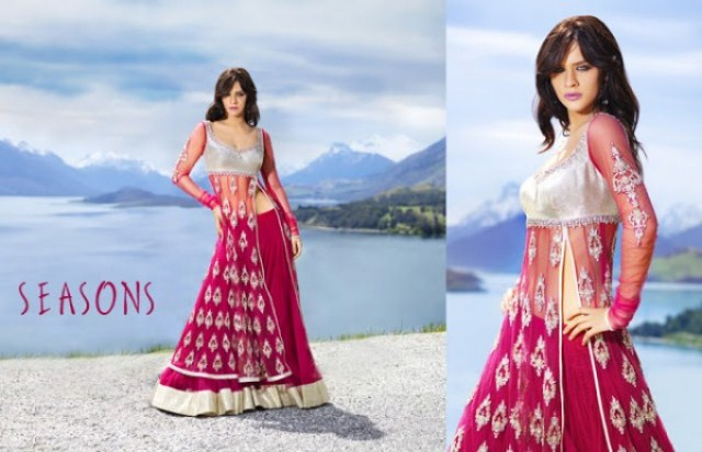 Fish Cut Lehenga Choli Asian Saree Collection by Season (4)