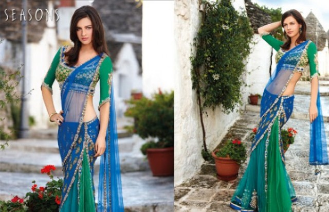 Fish Cut Lehenga Choli Asian Saree Collection by Season (5)
