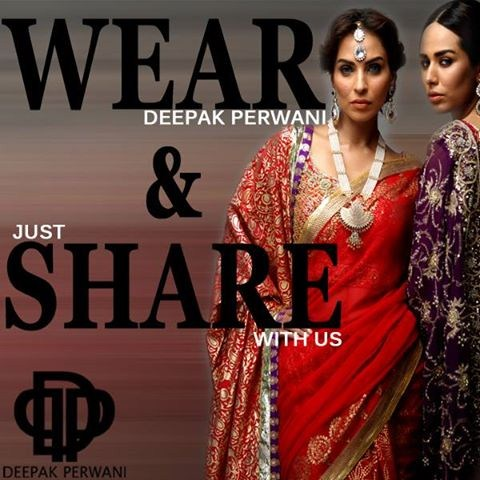 Latest Formal Wear Dresses For Girls by Deepak Perwani