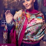 Gul Ahmed Pashmina Scarves Dresses 2013-2014 for Ladies (9)