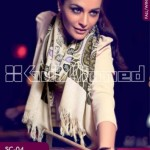 Gul Ahmed Pashmina Scarves Dresses 2013-2014 for Ladies (1)