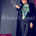 Gul Ahmed Pashmina Scarves Dresses 2013-2014 for Ladies (8)