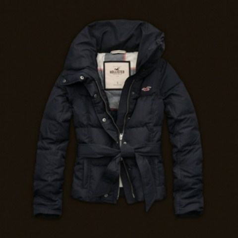 Hollister Womens Down Jackets Latest Winter Collection