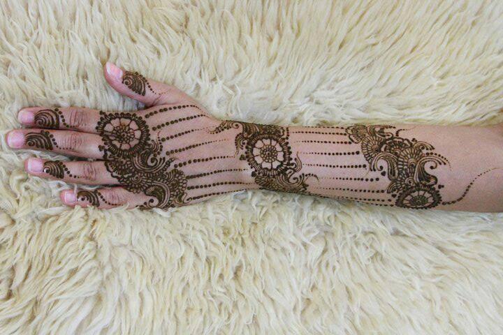 Beautiful Bridal Mehndi Henna Designs 2013-14 For Wome