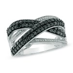 Elegance Diamond Rings By Zales Black