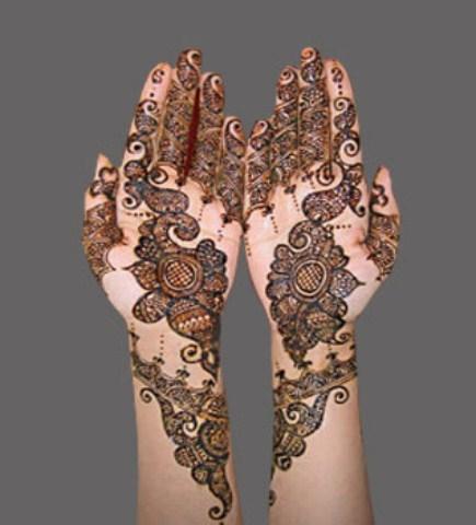 Stylish Bridal Mehndi Designs 2018-2019 For Women