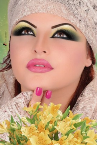 How to Tips For Arabic Bridal Makeup