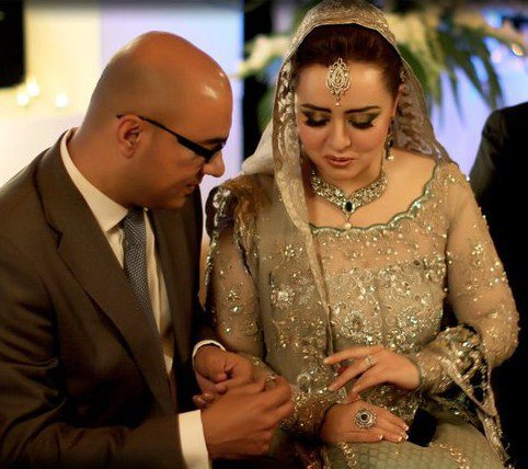 Wedding Pictures of Fashion Designer Maria B only on Pakistyles.com.