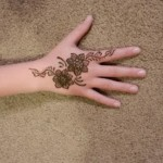 Lovely Kids Mehndi Henna tattoos Hand and feet Designs Collection (12)