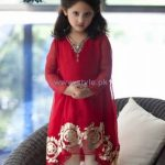 Latest fashion design kidz winter dresses