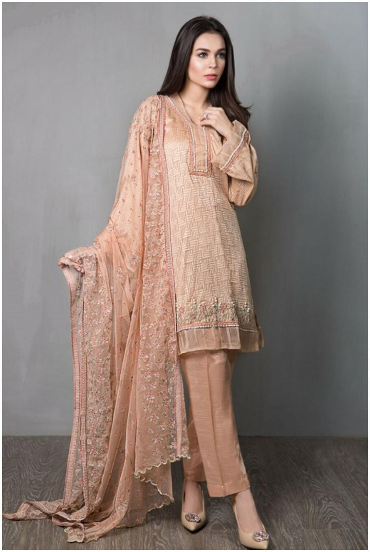 Maria-B- short kurti with churidar pajama