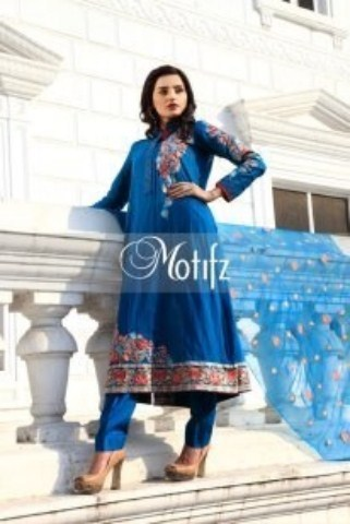 Motifz Beautiful Winter Fall Collection 2013-14 For Girls (2)