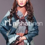 Nishat Linen Best Winter Shawl Collection 2013-14 for Girls (1)
