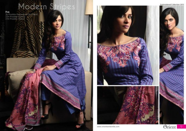 Orient Textile Girls Kashmiri Khaddar Collection 2013-14 Vol-2 (7)