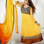 Saheli Couture Prachi Desai Floor Length Latest Frocks 2013