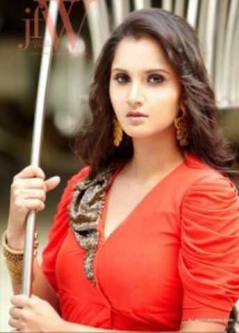 Sania Mirza Photo Shoot Very Hot At JFW Magazine (2)
