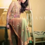 Tena Durrani Camellia Winter Dresses 2013 for Women and Girls (4)